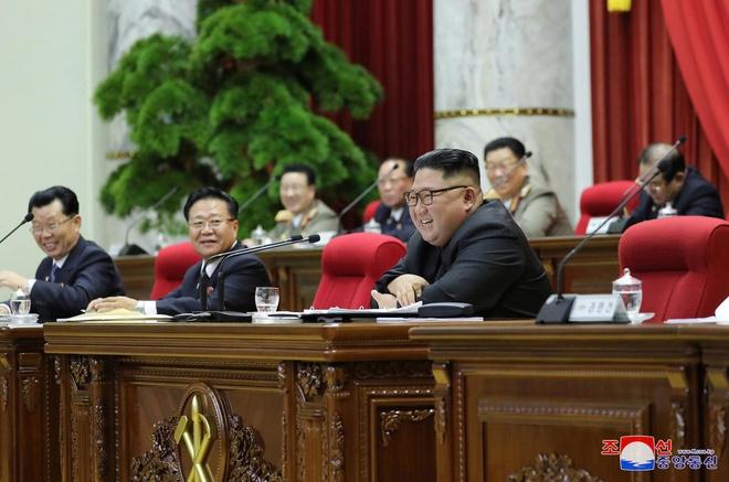 """Ông Kim Jong-un cáo buộc Mỹ """"như băng đảng xã hội đen"""" - Ảnh 1"""