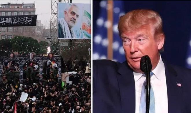 Sau cái chết tướng Soleimani, nhiều người Iran kêu gọi treo thưởng 80 triệu USD để ám sát Tổng thống Trump - Ảnh 1