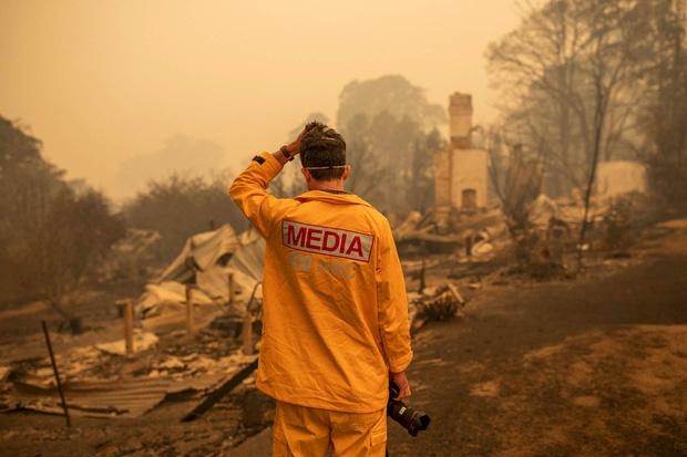 Những hình ảnh khiến người xem rớt nước mắt trong đại thảm họa cháy rừng ở Australia - Ảnh 14
