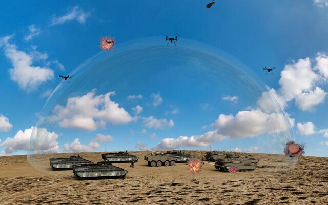 Israel tuyên bố sở hữu hệ thống laser chắn đứng các loại tên lửa xâm phạm không phận - Ảnh 1
