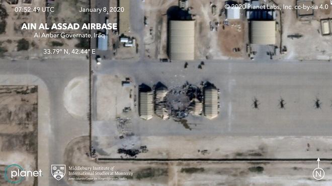 Hình ảnh vệ tinh tiết lộ mức độ thiệt hại của căn cứ quân sự Mỹ sau vụ Iran nã tên lửa - Ảnh 3