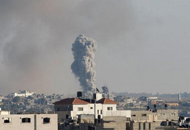 Tin tức quân sự mới nóng nhất ngày 21/10: Còi báo động tên lửa rú vang khi Israel bất ngờ không kích Dải Gaza - Ảnh 1