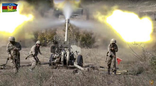 Tin tức quân sự mới nóng nhất ngày 24/10: Azerbaijan và Armenia giao tranh dữ dội  - Ảnh 1