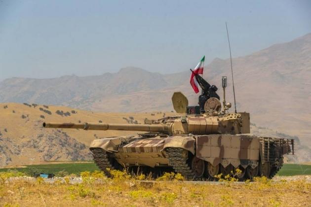 Iran điều khẩn cấp hàng chục xe tăng T-72S tới biên giới với Azerbaijan - Ảnh 1