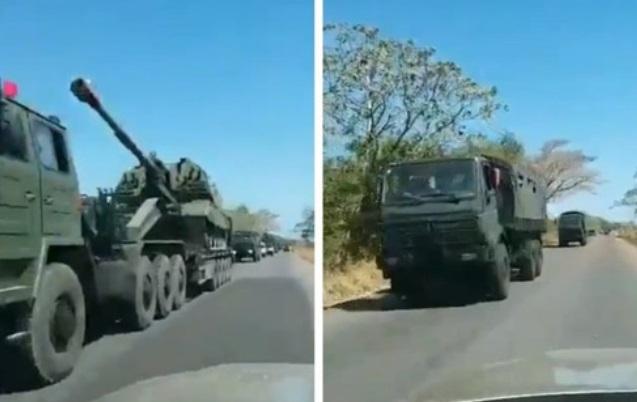"""Pháo tự hành 2S19 Msta-S Nga xé nát """"xe tăng bay"""" T-72, lộ sức mạnh khủng khiếp - Ảnh 1"""