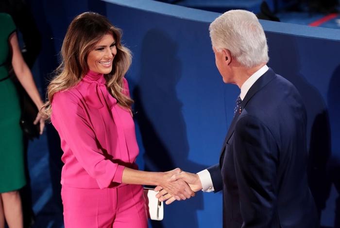Những bộ trang phục hàng chục nghìn USD của Đệ nhất phu nhân Melania Trump  - Ảnh 2