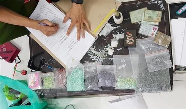 """Triệt phá lò sản xuất ma tuý """"khủng"""", thu giữ hơn 2.700 viên ma túy tổng hợp - Ảnh 1"""