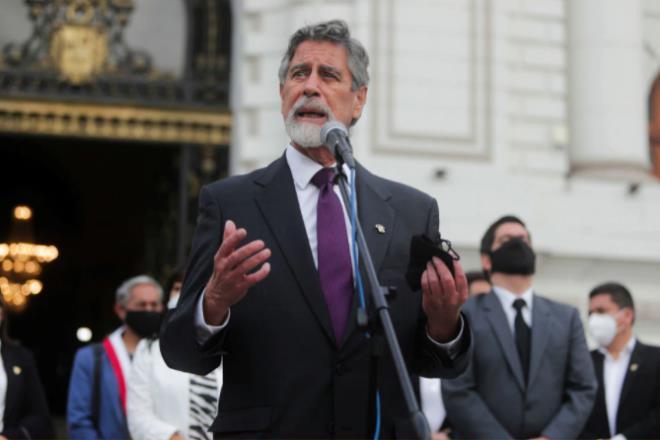 Peru thay  3 tổng thống chỉ trong vỏn vẹn một tuần - Ảnh 1