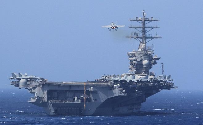 Tàu sân bay hạt nhân USS Nimitz của Mỹ bất ngờ quay lại vịnh Ba Tư  - Ảnh 1