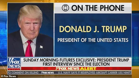 """Ông Trump lần đầu trả lời phỏng vấn sau bầu cử: """"Tôi sẽ không thay đổi suy nghĩ"""" - Ảnh 1"""