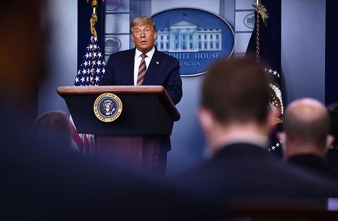 Ông Trump: Không có 'làn sóng xanh' nào như họ nói, thay vào đó là 'làn sóng đỏ' - Ảnh 1