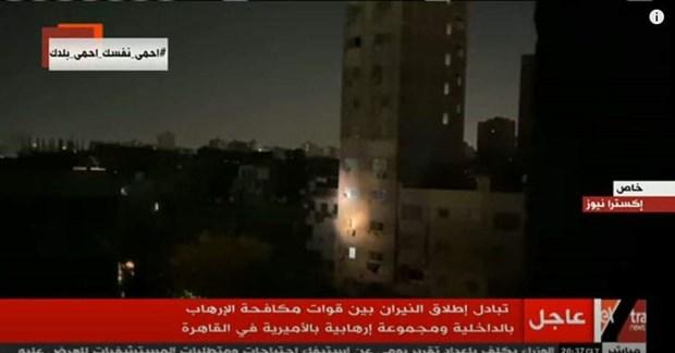 Ai Cập tuyên bố tiêu diệt hơn 20 xe chở khủng bố, vũ khí, đạn dược - Ảnh 1