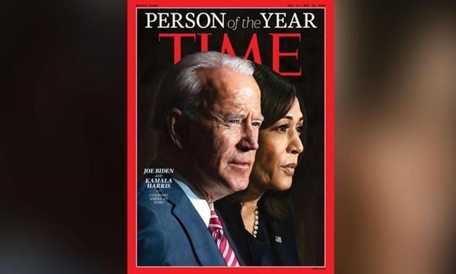 Ông Biden và 'nữ phó tướng' được TIME vinh danh là Nhân vật của năm 2020 - Ảnh 1