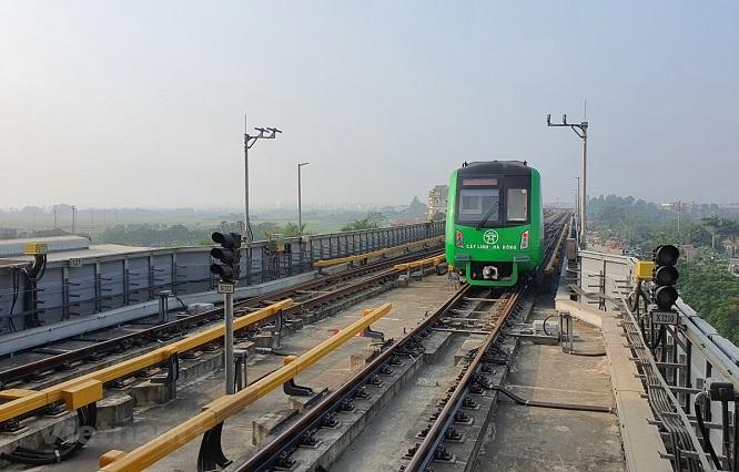 Đường sắt Cát Linh - Hà Đông vận hành thử trong vòng 20 ngày - Ảnh 1