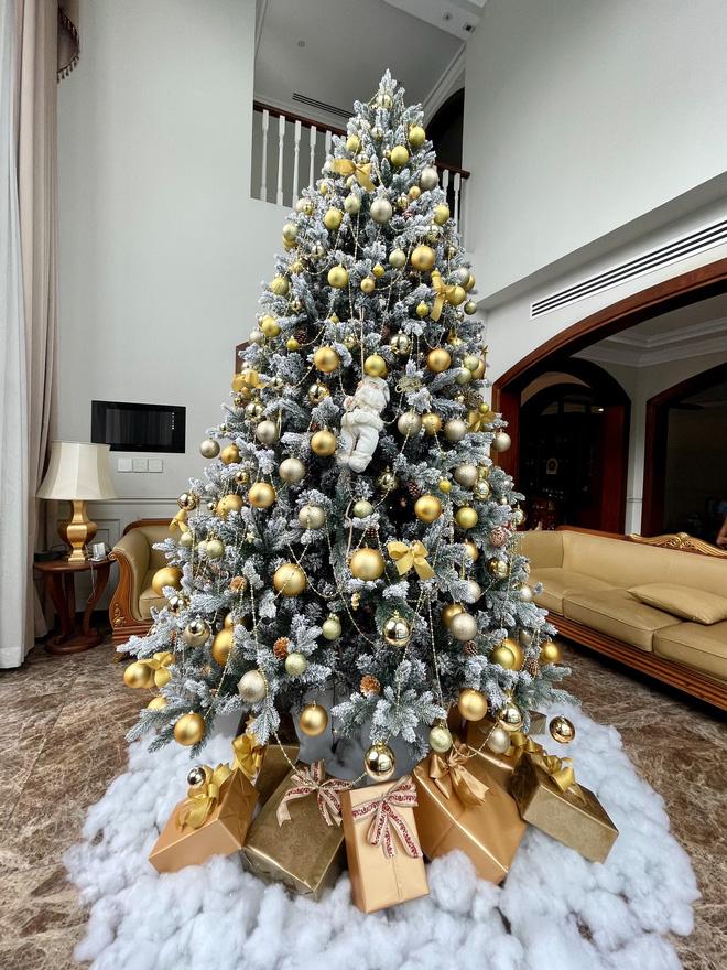 Chiêm ngưỡng căn biệt thự được trang hoàng lung linh của Bảo Thy trong mùa Giáng sinh - Ảnh 3