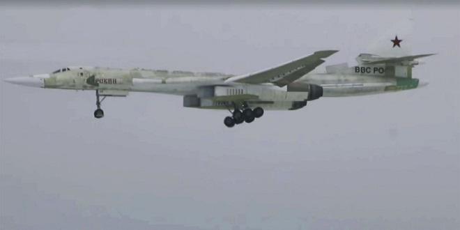 Nga công bố video chuyến bay đầu tiên của oanh tạc cơ siêu thanh Tu-160M  - Ảnh 1