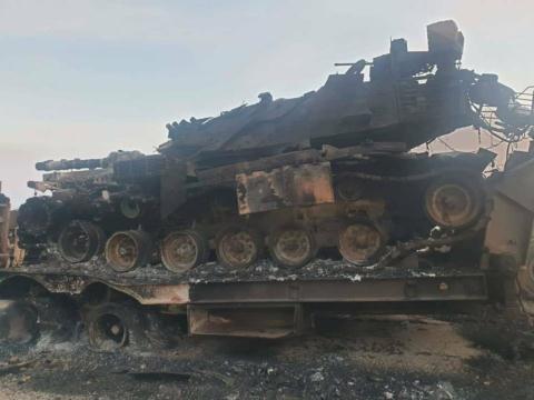Choáng váng trước loạt xe tăng Thổ Nhĩ Kỳ bị đánh tan tác như đống sắt vụn tại Syria - Ảnh 1