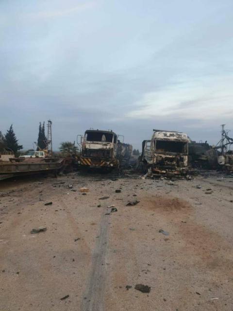 Choáng váng trước loạt xe tăng Thổ Nhĩ Kỳ bị đánh tan tác như đống sắt vụn tại Syria - Ảnh 3