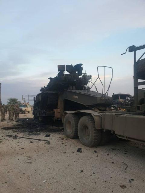 Choáng váng trước loạt xe tăng Thổ Nhĩ Kỳ bị đánh tan tác như đống sắt vụn tại Syria - Ảnh 4