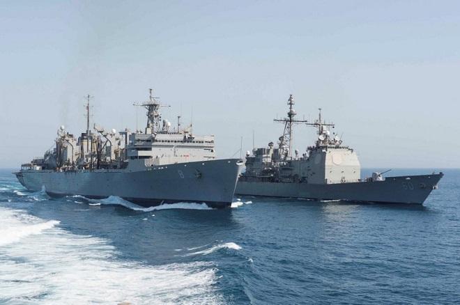 Hải quân Mỹ tịch thu loạt vũ khí 'khủng' của Iran trên biển Arab. - Ảnh 1