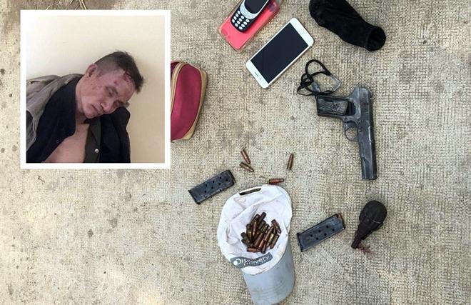 Bắt giữ đối tượng cầm súng, lựu đạn cố thủ trong nhà tại TP. HCM - Ảnh 1