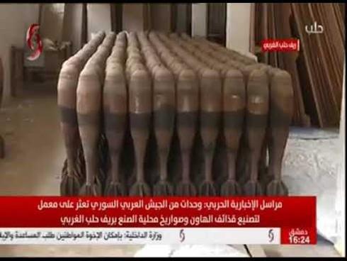 """Phát hiện nhà máy sản xuất tên lửa số lượng lớn của phiến quân tại """"chảo lửa"""" Syria - Ảnh 1"""