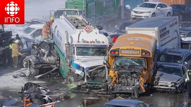 200 phương tiện đâm liên hoàn trên đường cao tốc, ít nhất 2 người thiệt mạng, 40 người bị thương - Ảnh 5