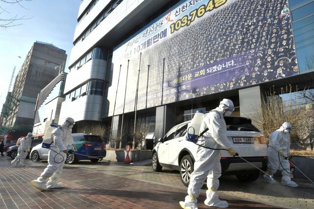 Hàn Quốc: Hơn 50% số ca nhiễm Covid-19 liên quan đến giáo phái Shincheonji - Ảnh 1