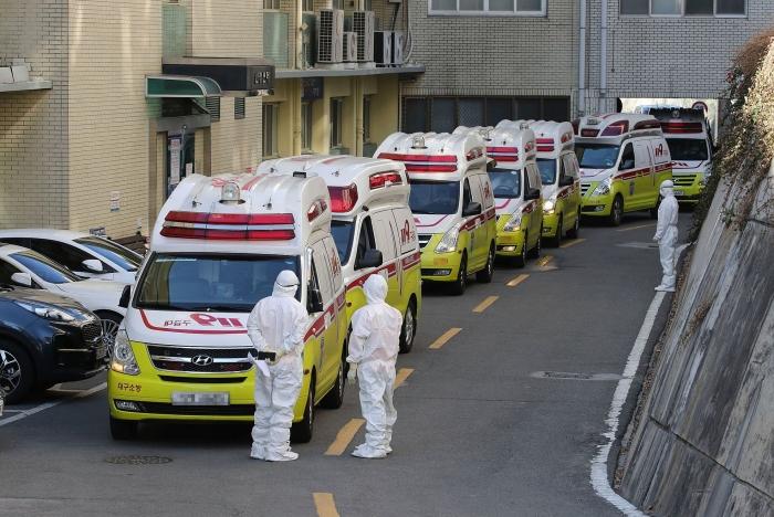 Tình hình dịch Covid-19 tại Hàn Quốc: Thêm 115 ca, nâng tổng số lên 1.261 người - Ảnh 1