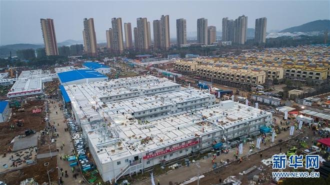 Có gì tại bệnh viện dã chiến được xây dựng thần tốc trong 10 ngày ở Vũ Hán? - Ảnh 1