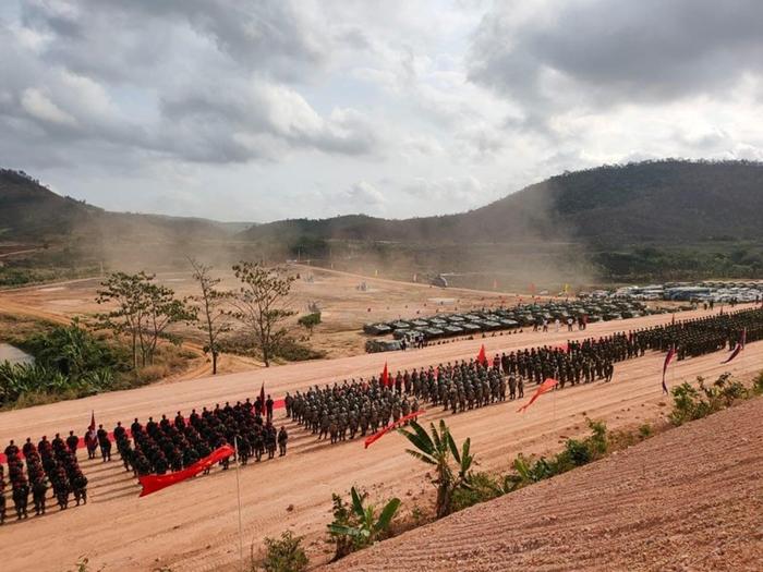 Campuchia và Trung Quốc tập trận chống khủng bố và cứu trợ nhân đạo - Ảnh 3