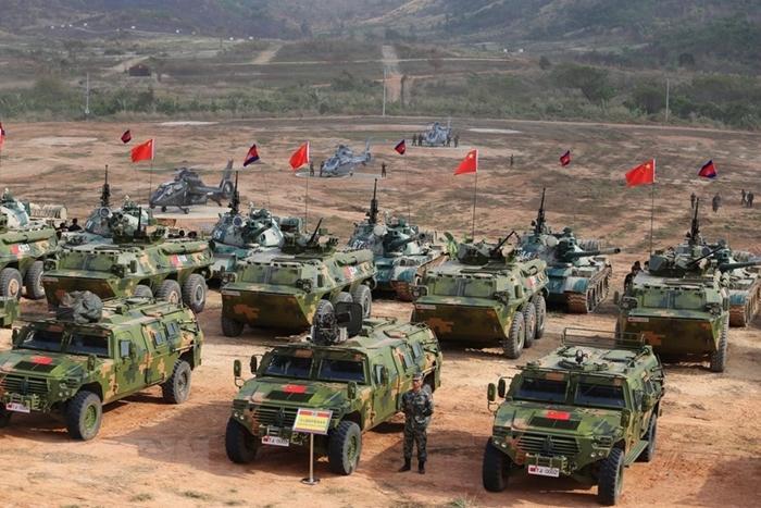 Campuchia và Trung Quốc tập trận chống khủng bố và cứu trợ nhân đạo - Ảnh 5