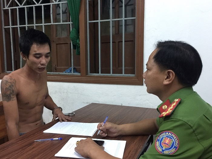 Đà Nẵng: 2 cán bộ công an phường bị chém nhập viện khi đang làm nhiệm vụ - Ảnh 1