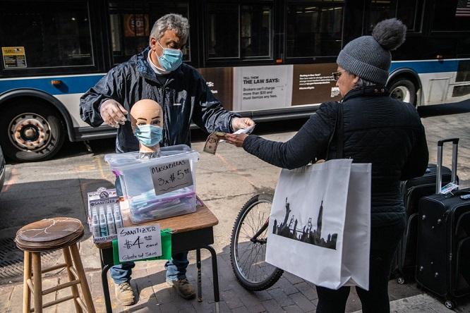NYT: Số ca nhiễm Covid-19 tại New York tăng thêm hơn 10.000 người chỉ sau một ngày - Ảnh 1