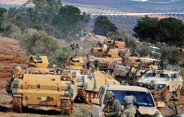 """Đoàn xe quân sự của Thổ Nhĩ Kỳ bị tấn công tại """"chảo lửa' Idlib  - Ảnh 1"""