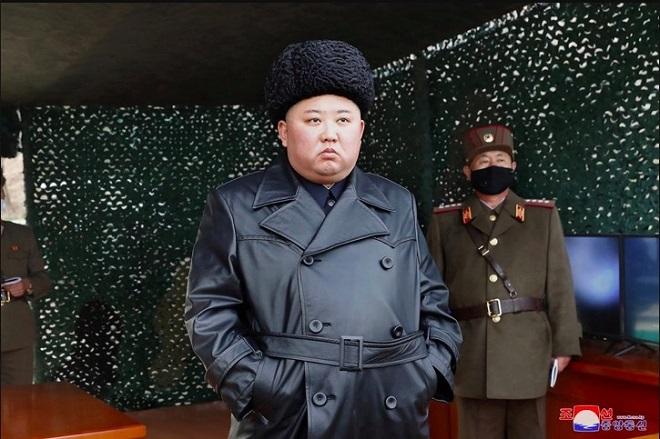 Triều Tiên bất ngờ công bố các hình ảnh trong cuộc diễn tập quân sự với pháo binh - Ảnh 1