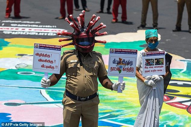 Vi phạm quy định phong tỏa tại Ấn Độ, du khách bị chép phạt 500 lần - Ảnh 5