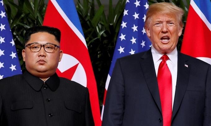 Triều Tiên bất ngờ bác tin Chủ tịch Kim Jong-un gửi thư cho Tổng thống Donald Trump - Ảnh 1