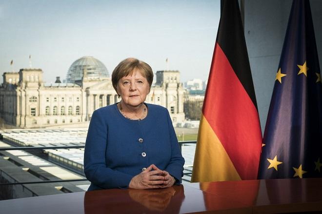 Thủ tướng Đức xuất hiện sau 14 ngày tự cách ly - Ảnh 1