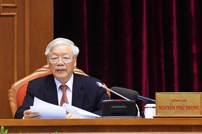 Phát biểu khai mạc Hội nghị Trung ương 12, khóa XII của Tổng Bí thư, Chủ tịch nước Nguyễn Phú Trọng - Ảnh 1