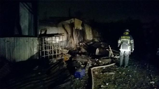 Hiện trường vụ cháy viện dưỡng lão kinh hoàng khiến 10 người thiệt mạng - Ảnh 1