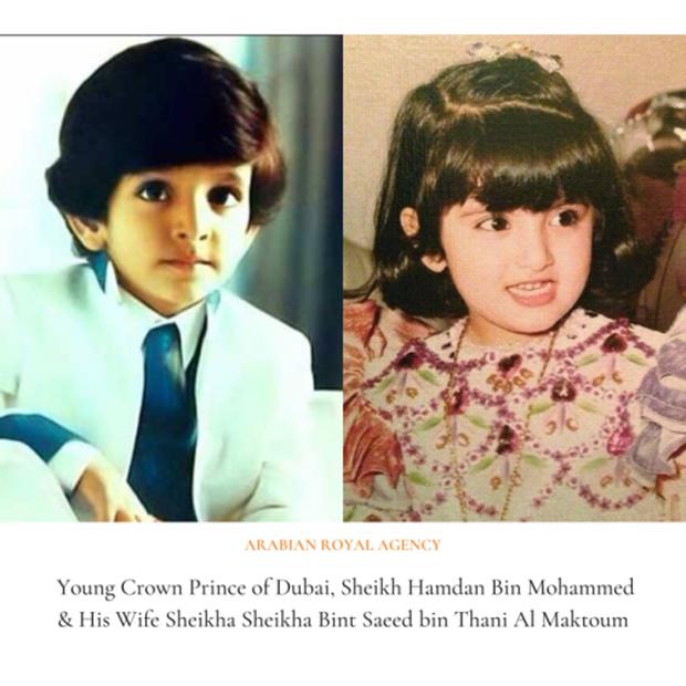 Hình ảnh hồi nhỏ hé lộ nhan sắc cực phẩm của vợ vị Thái Tử đẹp trai, giàu có bậc nhất Dubai - Ảnh 2