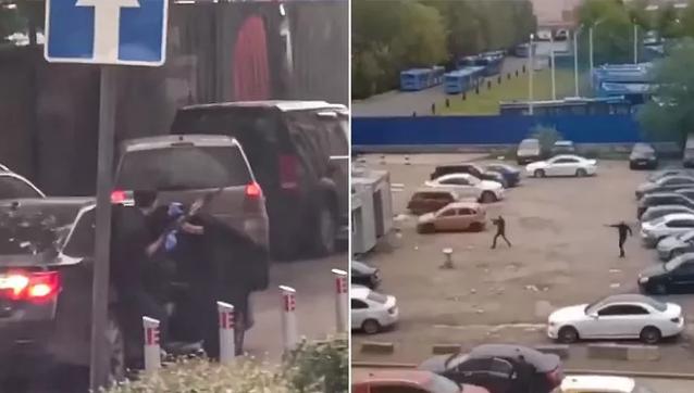 Điều tra vụ nhóm người đấu súng như trong game ngay giữa thủ đô của Nga - Ảnh 1