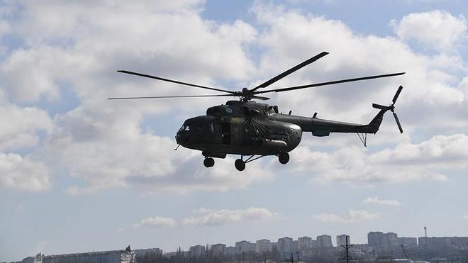 Rơi trực thăng quân sự Nga Mi-8, 4 người thiệt mạng - Ảnh 1