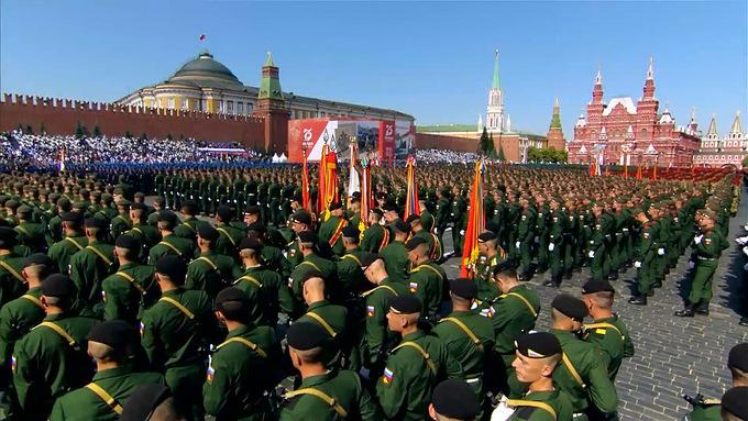 14.000 binh sĩ cùng hàng trăm khí tài tham gia duyệt binh mừng 75 năm chiến thắng phát xít tại Nga - Ảnh 3