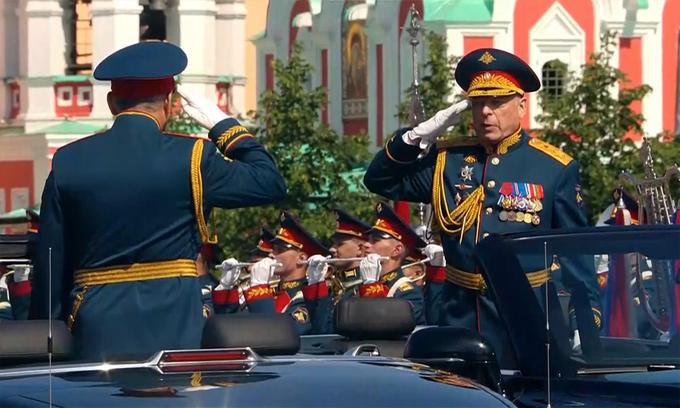 14.000 binh sĩ cùng hàng trăm khí tài tham gia duyệt binh mừng 75 năm chiến thắng phát xít tại Nga - Ảnh 4
