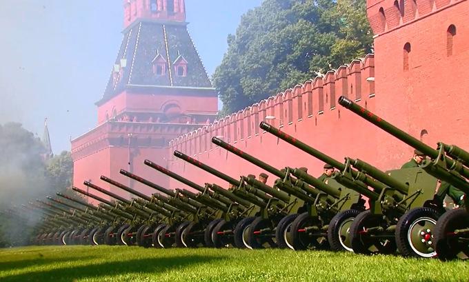 14.000 binh sĩ cùng hàng trăm khí tài tham gia duyệt binh mừng 75 năm chiến thắng phát xít tại Nga - Ảnh 6