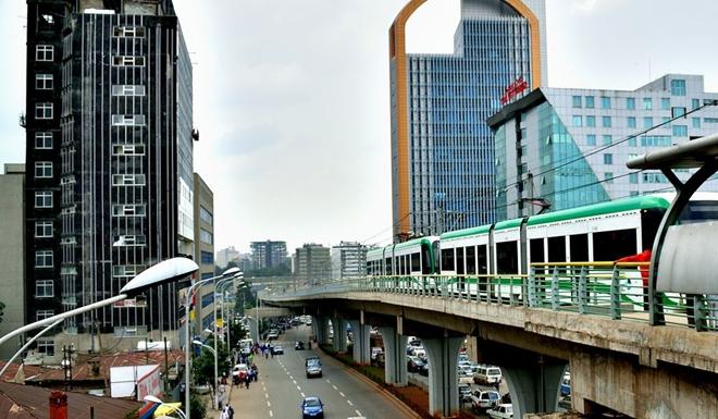 Cận cảnh đường sắt trên cao do Tập đoàn Trung Quốc xây dựng ở Ethiopia, đã có lãi 3 triệu USD - Ảnh 5