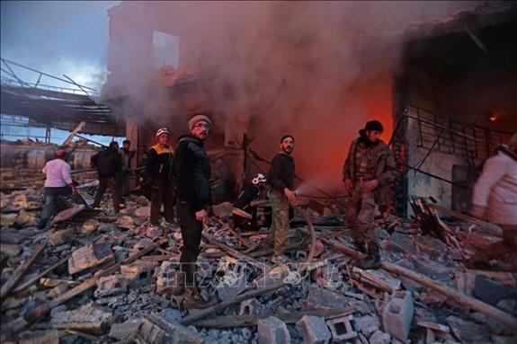 Tình hình chiến sự Syria mới nhất ngày 21/7: Syria tấn công đáp trả dữ dội, trả đũa loạt tên lửa từ  - Ảnh 3