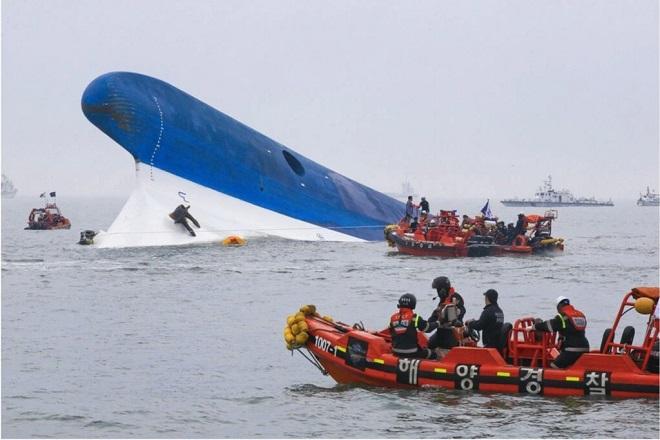 Nghi phạm trung tâm trong vụ chìm phà Sewol khiến 269 người chết đã bị bắt - Ảnh 1
